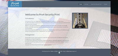 Pro4 Security Print