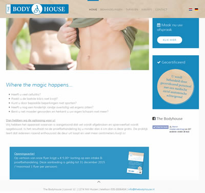 Website The Body House